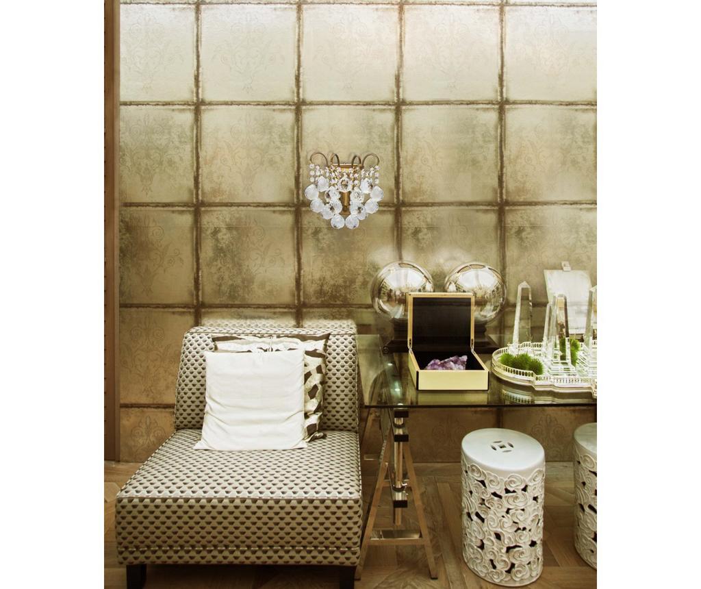 Aplica de perete Pearl Honey Brass