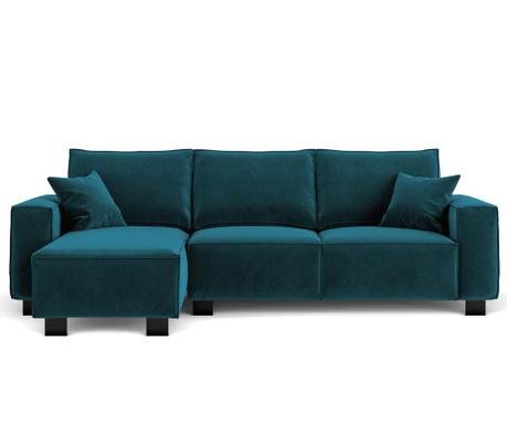Dolce Turquoise Baloldali sarokkanapé