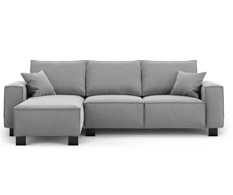 Modern Grey Baloldali sarokkanapé