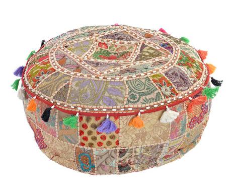 Podlahový vankúš Multicolored Patchwork