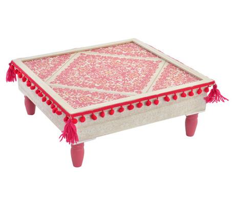 Pomocný stôl Pink Pompon