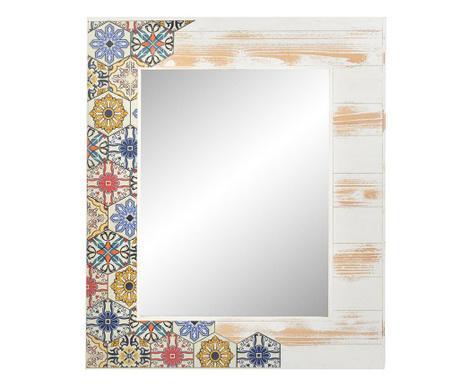 Zrkadlo White Multicolored Tile