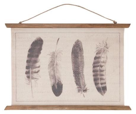 Feather Fali dekoráció