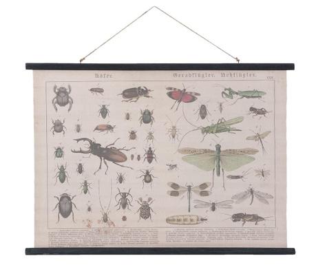 Insects Fali dekoráció