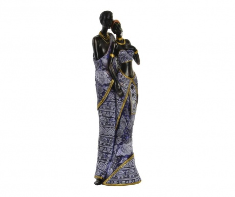 Dekorácia Blue African S