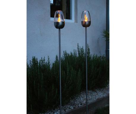 Set 3 solarnih talnih svetilk Olympe