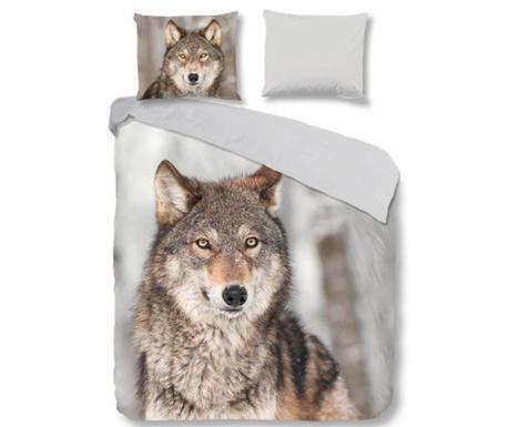 Posteljnina Double Wolf Multi
