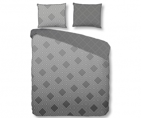 Posteljnina Double Sateen Myrna Grey