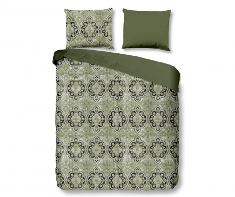 Posteljnina Single Sateen Rocco Green Plus