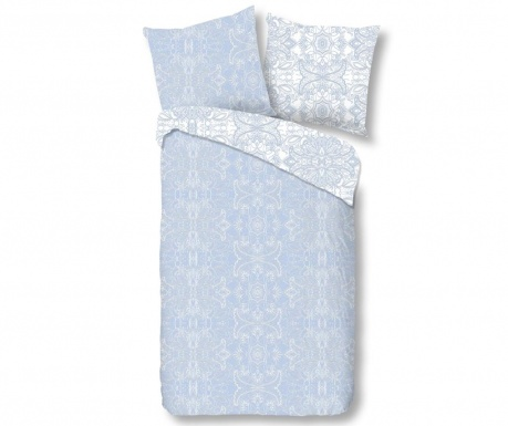 Posteljnina Single Sateen Selma Light Blue