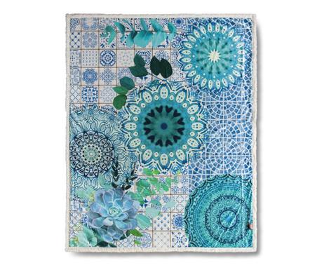 Κουβέρτα Sinsin Blue 130x160 cm