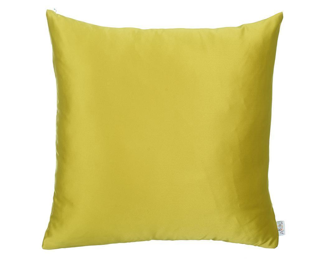 Perna decorativa Full Mustard 43x43 cm