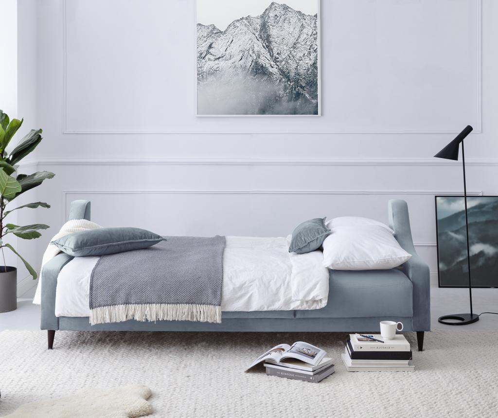 Canapea extensibila 3 locuri Freesia Light Blue