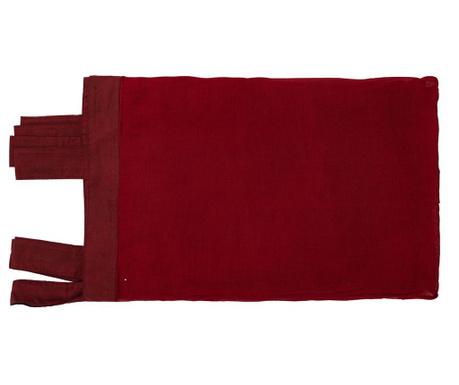 Zavesa Carol Burgundy 130x300 cm