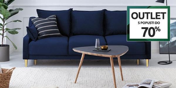 Outlet: Kavči in fotelji