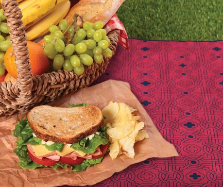 Одеяло за пикник Red Design 127x152 см