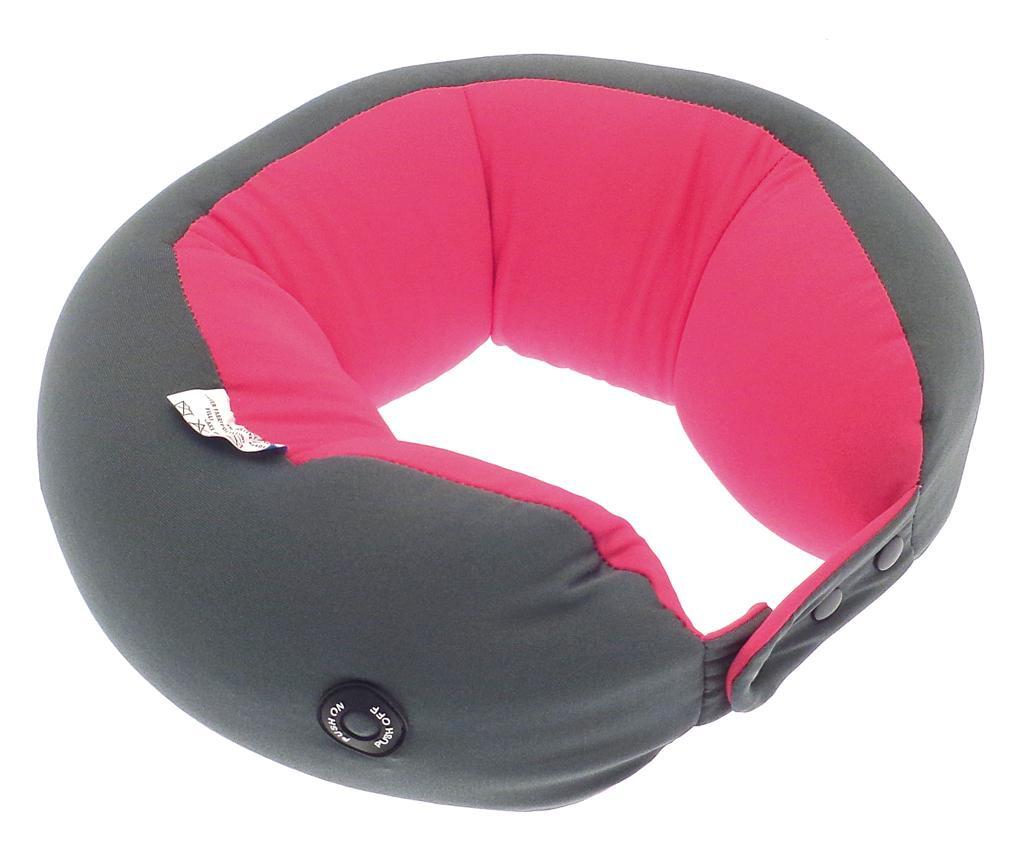 Perna de gat cu vibratie Trek Pink & Grey
