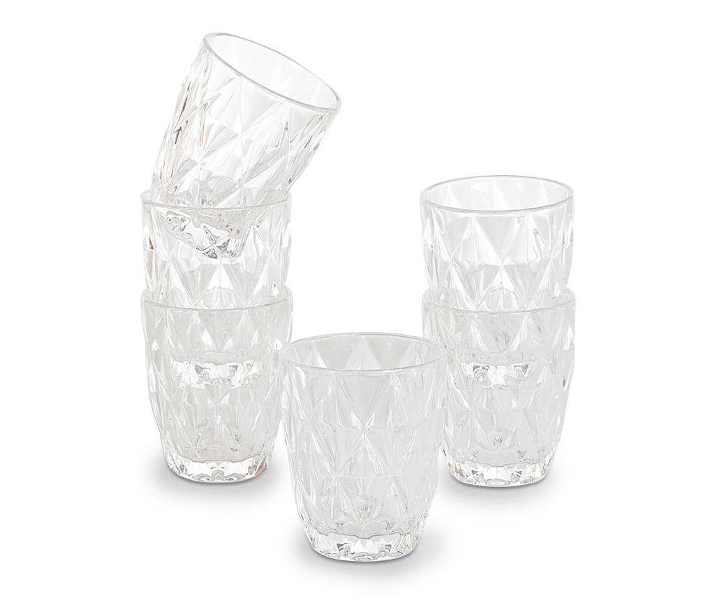"""Set 6 čaša za vodu """"Diamonds"""" Shelby"""