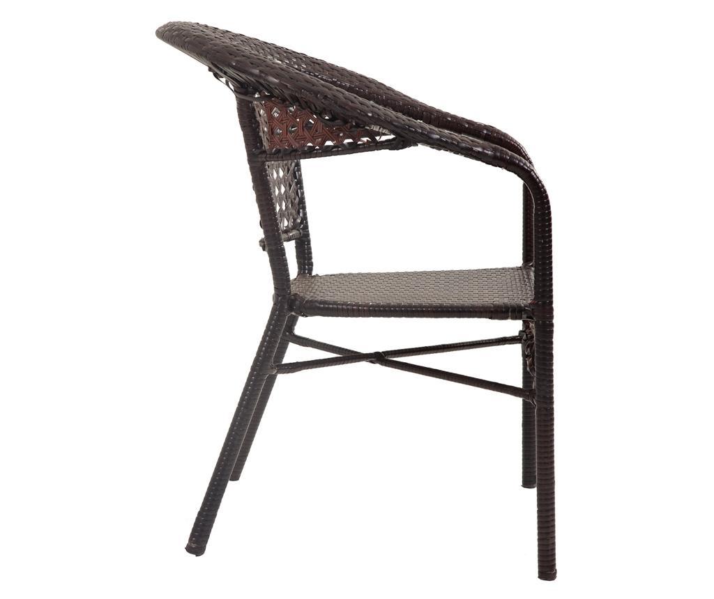 Комплект маса и 4 стола за екстериор Elice
