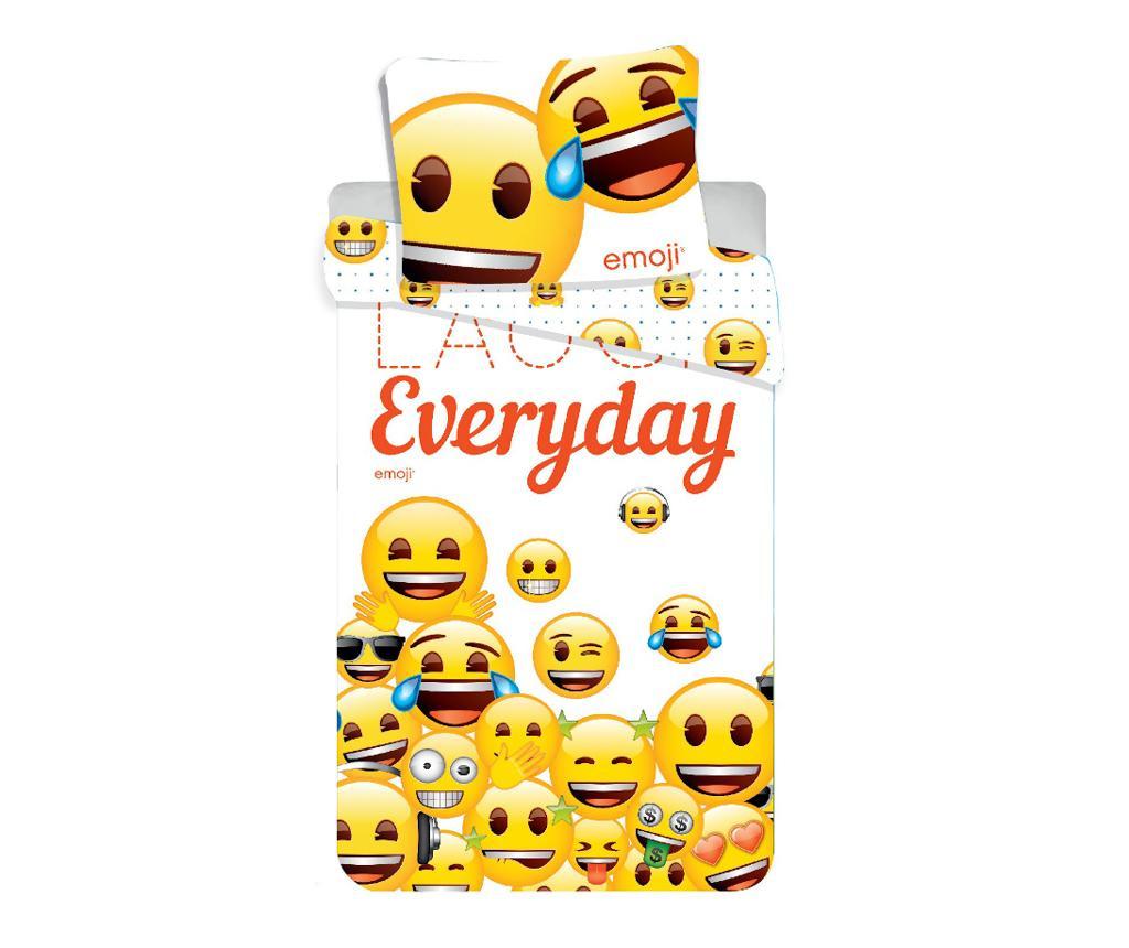 Спален комплект Single Emoji Laugh Everyday