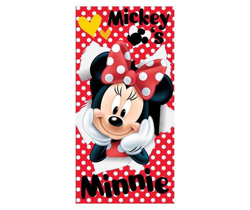Prosop de plaja Minnie Mouse 70x140 cm