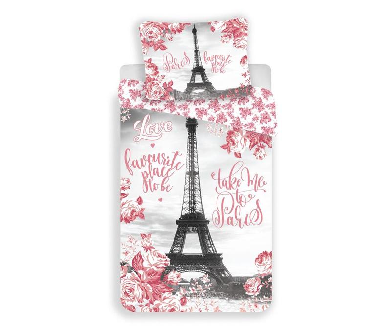 Posteljnina Single Paris Roses