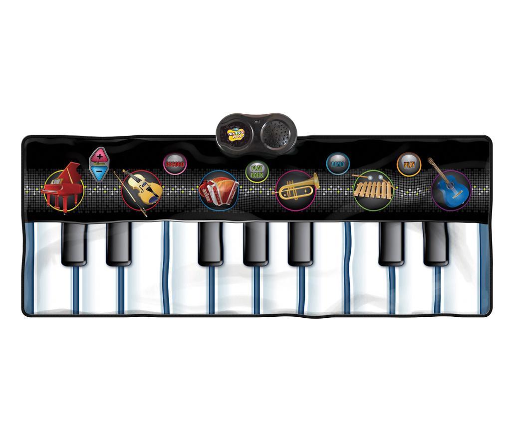 Musical Keyboard Zenélő szőnyeg tevékenységekkel 46x120 cm