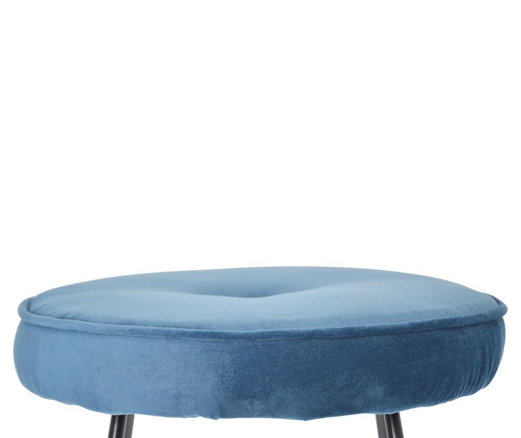 Barski stol Bristol Blue Velvet