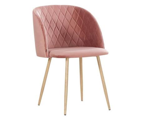 Stol Makro Pink Velvet