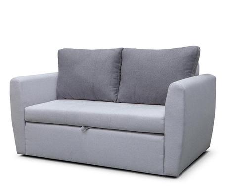 Bella Light Grey Kétszmélyes kihúzható kanapé