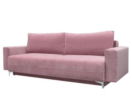 Třímístná rozkládací pohovka Marsylia Pink