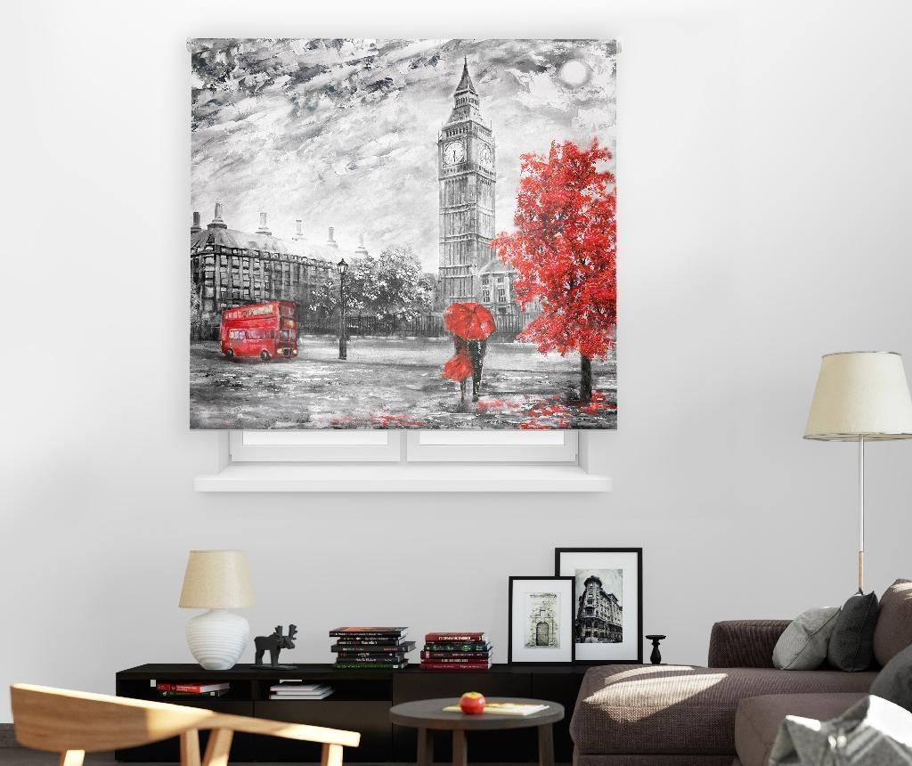 Rolo zavesa London Art 120x250 cm