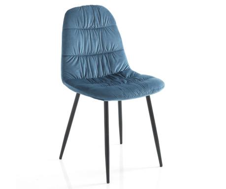 Set 4 stolice Fluffy Blue