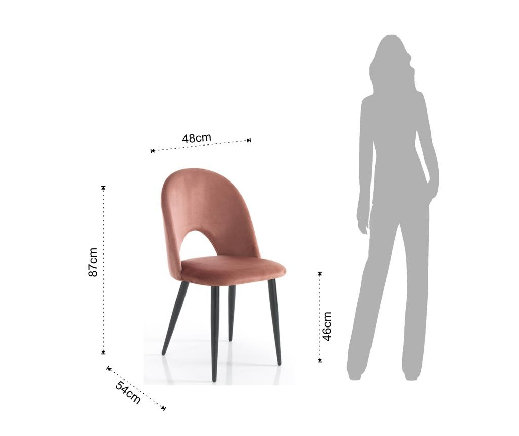 Комплект 4 стола Nail Pink