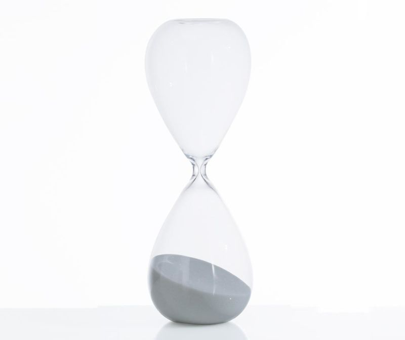 Пясъчен часовник Tomtime 30 Grey