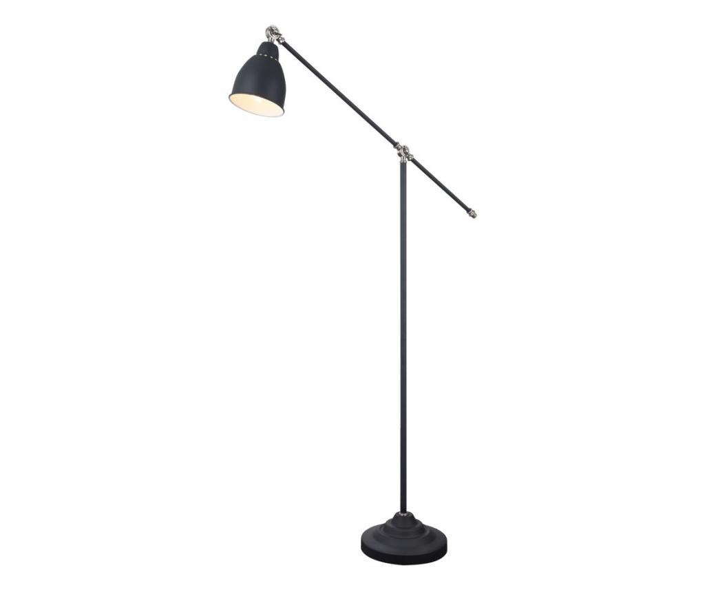 Podna svjetiljka Domino Black