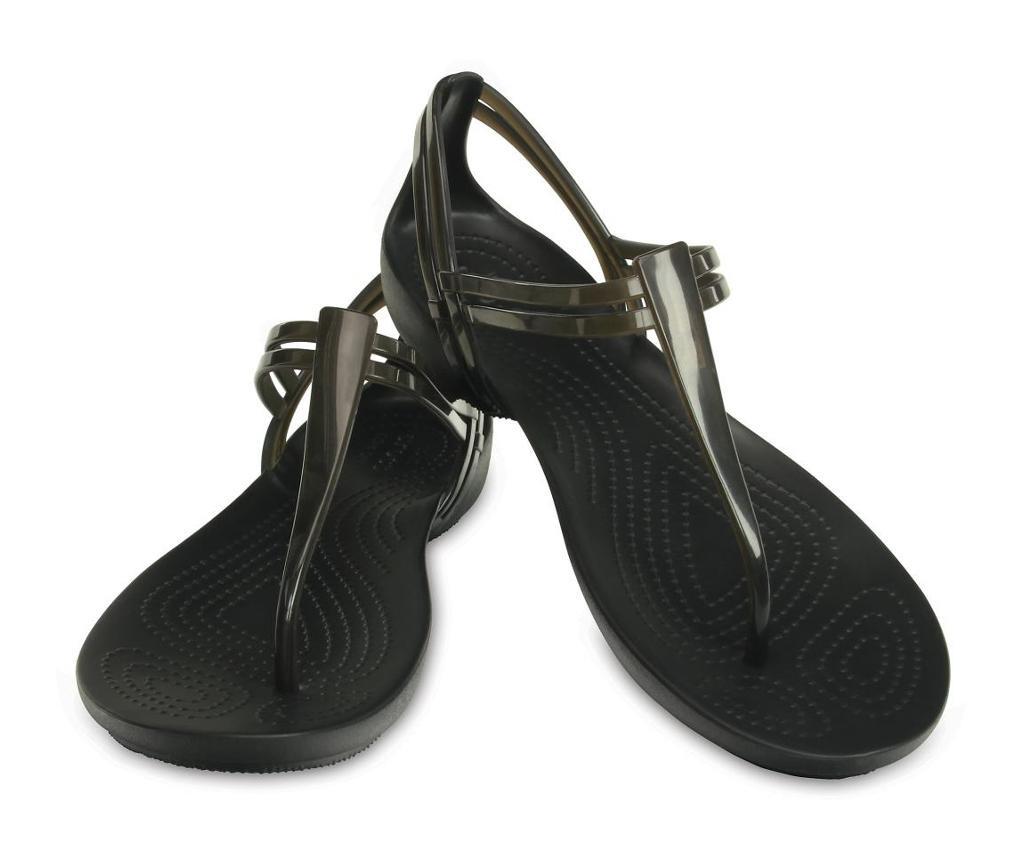 Ženske sandale Crocs Isabella T-strap Black 41-42