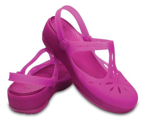 Ženske cokle Crocs Carlie Cutout Clog Pink 39-40