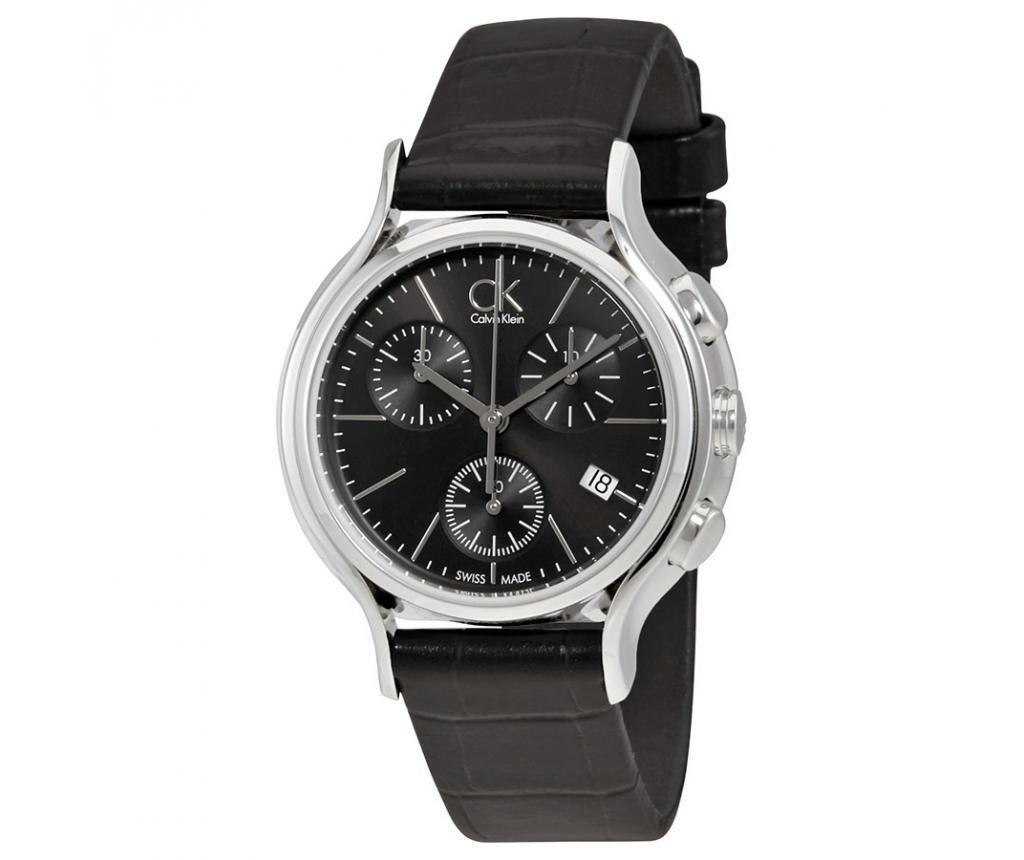 Дамски ръчен часовник Calvin Klein Skirt Black and Black