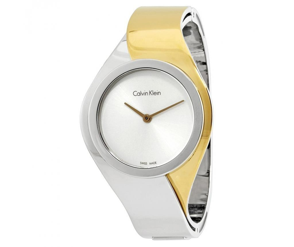 Dámské hodinky Calvin Klein Senses Silver and Silver and Gold