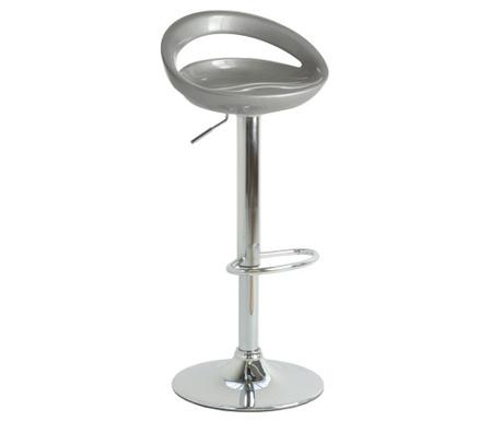 Set 2 barske stolice Mirko Silver