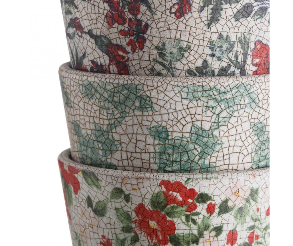 Patterns 6 db Virágcserép