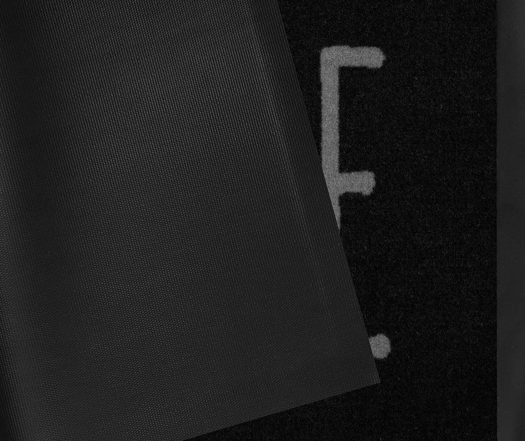 Predpražnik Printy Mood Anthracite Grey 45x75 cm
