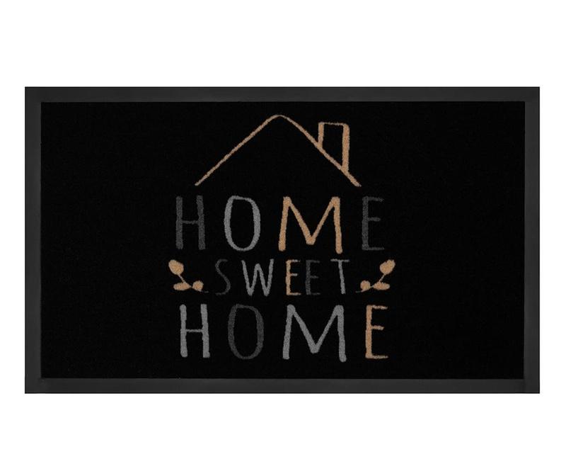 Predpražnik Printy Home Black Creme 45x75 cm