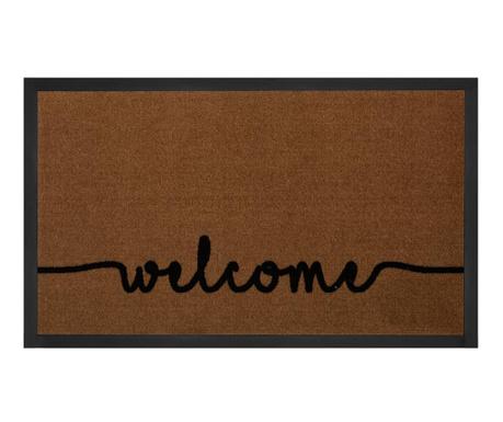 Входна изтривалка Printy Welcome Light-Brown Anthracite 45x75 см