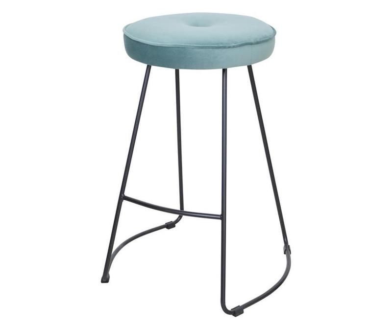 Barski stol Bristol Green Velvet