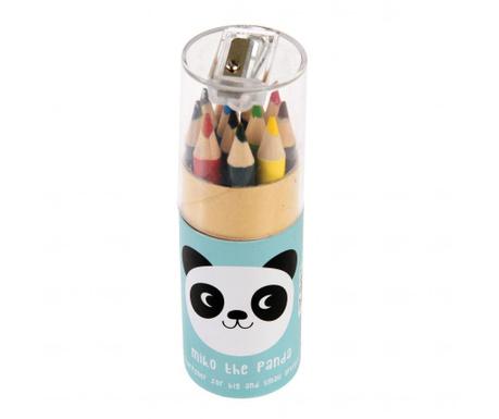 Set 12 obojenih olovki Miko the Panda