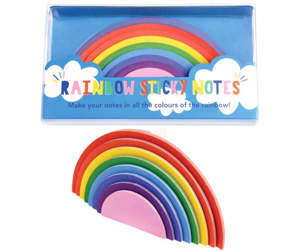 Notite adezive Rainbow