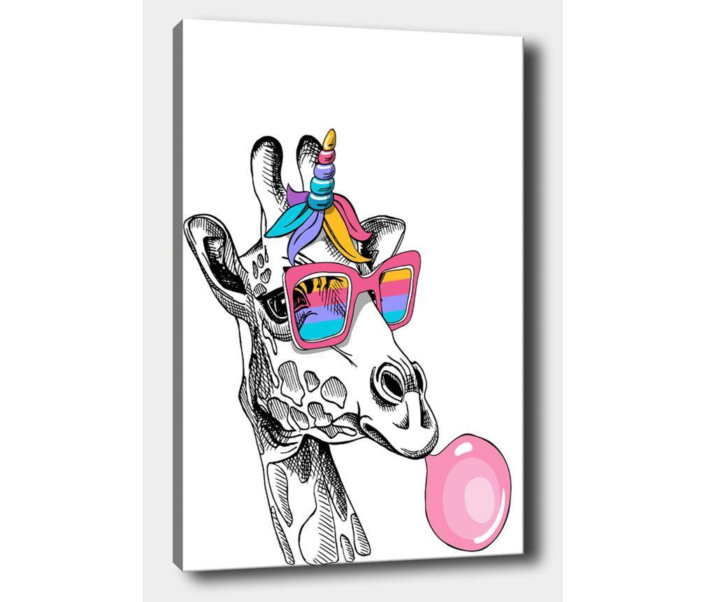 Giraffe Baloon Kép 70x100 cm