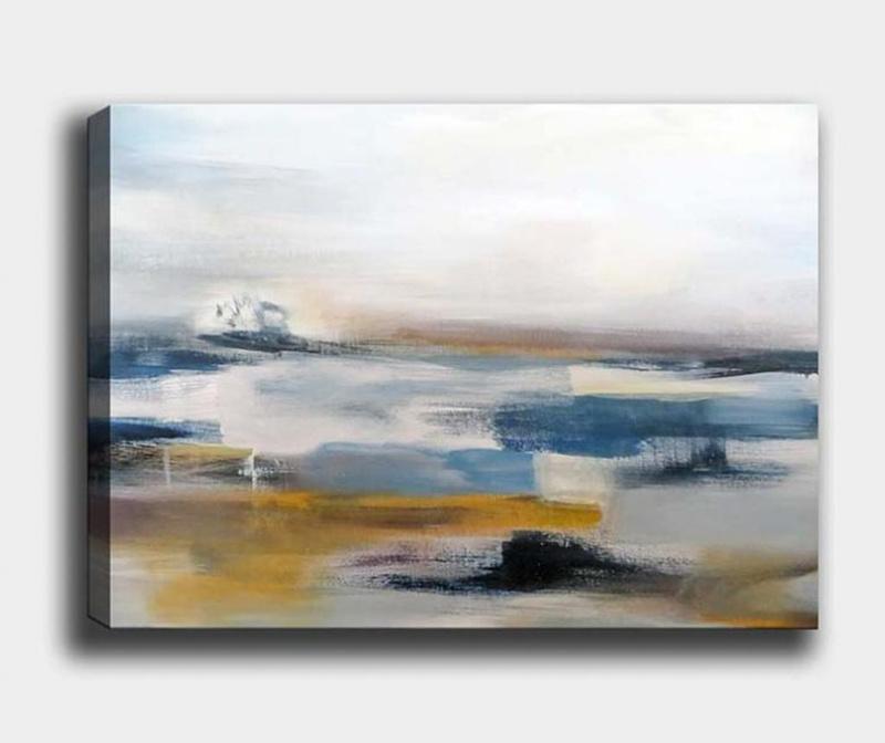 Slika Abstract Landscape 70x100 cm